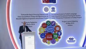 Suriyeli göçmenlere Türkçe ve mesleki eğitim desteği