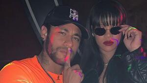 Neymar, ödül töreni yerine Rihannayı tercih etti
