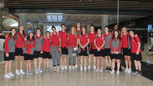 A Milli Kadın Basketbol Takımı, Slovenyaya gitti