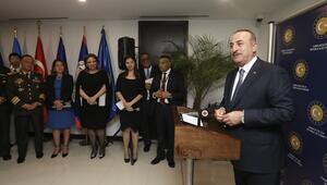 Dışişleri Bakanı Çavuşoğlu Guatemalada
