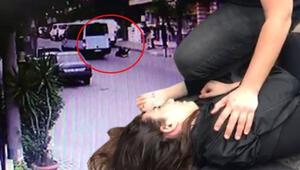 Maltepede dehşet Genç kız tıka basa dolu minibüsten yola düştü