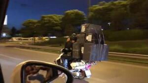 İstanbulda pes dedirten görüntü