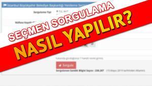 İstanbul seçimleri için YSK seçmen sorgulama ekranı TC ile nasıl kullanılır