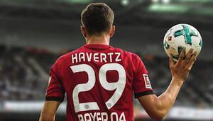Bundesligada yılın futbolcusu Havertz