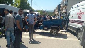 Akçakoca'da patpat kazası 2 yaralı