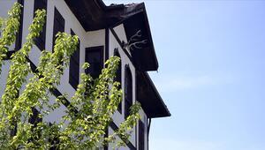 Geyik boynuzları Safranbolu evlerinin sigortası gibi görülüyor
