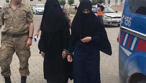 PKK/PYD kampından kaçan DEAŞlı 2 kadın sınırda yakalandı