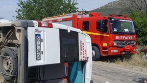 Denizlide zincirleme trafik kazası: Çok sayıda yaralı var