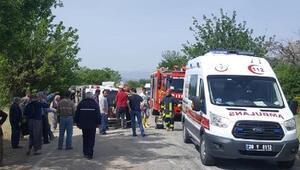Denizlide 3 aracın karıştığı zincirleme kaza: 7 yaralı