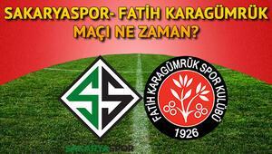Sakaryaspor- Fatih Karagümrük maçı ne zaman ve saat kaçta oynanacak