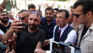 Ekrem İmamoğlu Taksimde gezdi