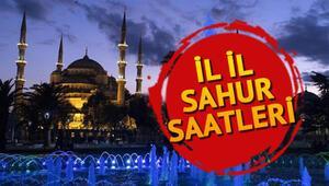 Bu gece sahur saat kaçta İstanbul, Ankara, İzmir ve diğer illerin sahur vakitleri