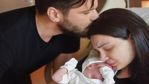 Almeda ve Tolgahandan duygulandıran fotoğraf: Doğumdan hemen sonra...