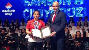 Avrupa judo şampiyonu Bahçeşehir Kolejinden