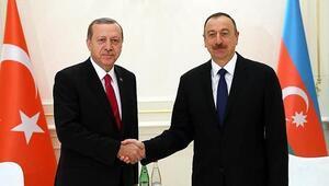 Cumhurbaşkanı Erdoğandan Aliyeve kutlama mesajı