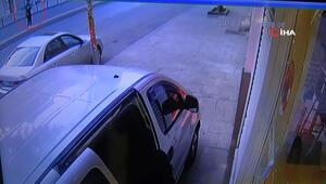Hırsızlar çaldı, genç kız fotoğrafladı