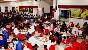 Şehit ailelerine ve gazilere iftar