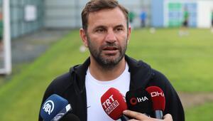 Trabzonspor maçını kazanmak istiyoruz