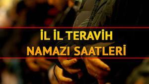 Teravih namazı saat kaçta kılınacak 23 Mayıs İl il teravih namazı vakitleri
