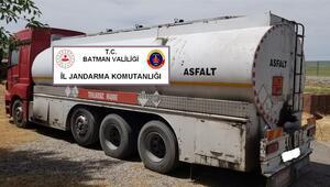 Batmanda 170 ton kaçak petrol ele geçirildi