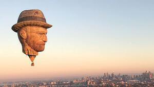 Van Gogh'dan kuş bakışı Melbourne