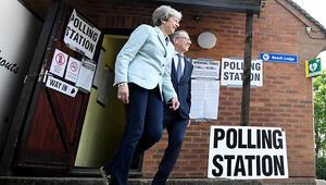 İngilterede oy kullanma işlemi sona erdi