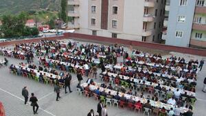 Şemdinlide şehit aileleri ve gazilere iftar