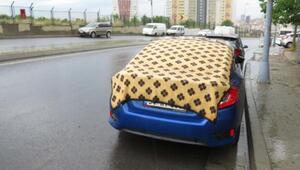 Maltepede battaniyeli dolu önlemi