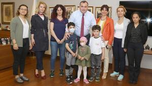 Başkan Taşdelen, lösemili çocukları ağırladı