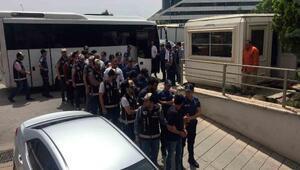 Gaziantepte Şimşekler grubuna operasyon: 16 gözaltı