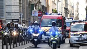 Fransada patlama: Yaralılar var...