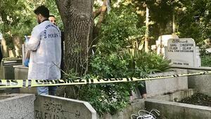 17 yaşındaki genç mezarlıkta yaşamına son verdi