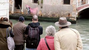 Venedik'te bir Banksy