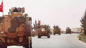 Halepte TSK devriyesi