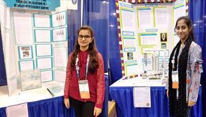Türk okulunun kız öğrencileri Pakistanı ABDde temsil etti