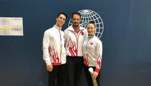 Milli cimnastikçilerden gümüş madalya