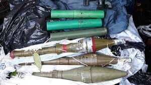 Karadenizde PKKya ait mühimmat deposu imha edildi