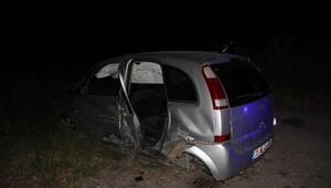 İzmirde 2 otomobil çarpıştı: 7 yaralı