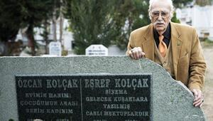 Eşref Kolçak eşi Özcan Kolçak ve oğlu Harun Kolçakın mezarına defnedilecek