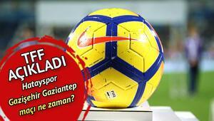 Hatayspor Gazişehir Gaziantep maçı ne zaman Spor Toto 1. Lig play off finali ne zaman