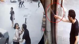 İstanbul'da dehşet anları Eşiyle kavga etti, terör estirdi