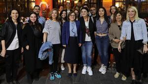 Yeme içme sektörünün önde gelen kadınları Gaziantepte buluştu