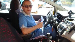 Taksici dehşeti yaşadı: Rengim soldu kendimi kaybettim o anda…