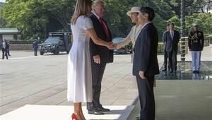 ABD Başkanı Trump Japonya İmparatoru ile görüştü