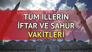 İftar bugün saat kaçta yapılacak 27 Mayıs tüm illerin iftar vakitleri