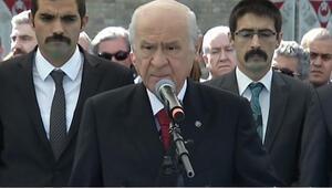 MHP lideri Bahçeli Şehitleri Anma Günü'nde konuştu