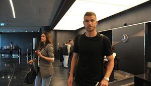 Son dakika: Edin Dzeko, İstanbulda Fenerbahçe için mi geldi