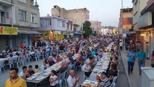 Kadirlide 15 bin kişilik iftar yemeği