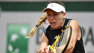 Wozniacki Fransa Açıka ilk turda veda etti