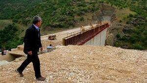 Kelebek Barajında 6 ay sonra su tutulmaya başlanacak